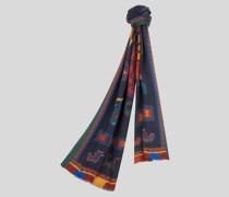 Schal mit Teppichmuster-Print