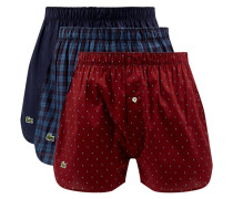 Classic Fit Boxershorts aus Baumwolle im 3er-Pack