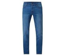 Regular Fit Jeans aus Baumwoll-Elasthan-Mix Modell 'Maine'