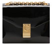 Tasche C-Tasche Mittleres Modell Aus Lack-Rindsleder