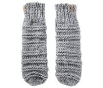 Handschuhe mit Melange-Effekt