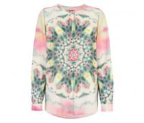 Fließende Bluse 'Filiana L' in Batik-Optik
