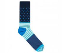 Socken mit Muster-Mix
