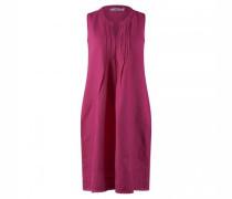 Ärmelloses  Midi-Kleid aus Leinen