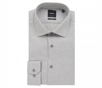 Slim-Fit Hemd 'Santos' mit Musterung