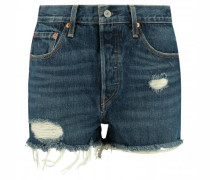 Shorts '501' im Used-Look