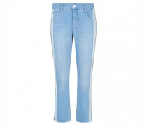 Verkürzte Straight-Leg Jeans