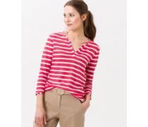 T-Shirt 'Claire' mit Streifenmuster