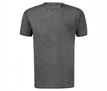 T-Shirt mit Label-Patch