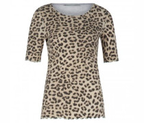 T-Shirt mit Animal-Muster