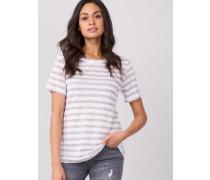 T-Shirt in Streifenmuster