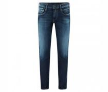 Slim-Fit Jeans 'Anbass' in Used-Optik