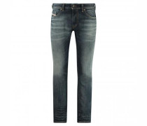 Slim-Fit Jeans 'Thommer' mit Destroyed-Details