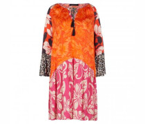 Kleid mit All-Over Print