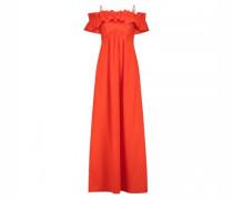Off-Shoulder Kleid mit Rüschendetails
