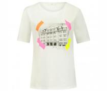 T-Shirt 'Cira' mit Foto-Print