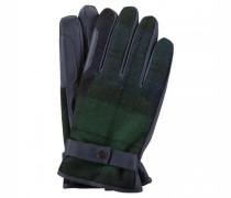 Handschuhe 'Newbrough' aus Leder und Wollgewebe