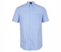 Regular-Fit Hemd mit Button-Down Kragen