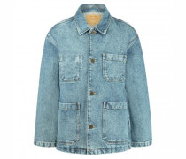 Jeansjacke in Vintage-Optik
