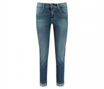 7/8-Jeans 'Pina' mit Umschlagkante