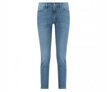 7/8 Jeans 'Nomi Z' mit Zipperdetail