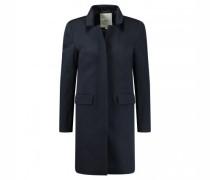 langer Mantel mit Gehschlitz