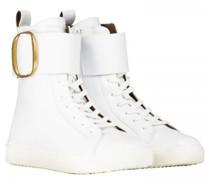 Sneaker mit O-Schnalle