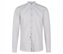 Slim-Fit Hemd 'Pryor' mit Stehkragen