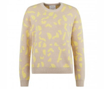 Pullover ´OLESSYAA´mit All-Over Musterung