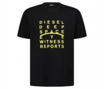T-Shirt 'Just' mit Print