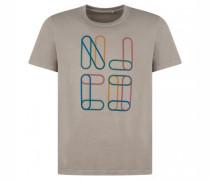 T-Shirt 'Roy' mit Front-Print
