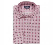 Slim-Fit Hemd mit Kentkragen