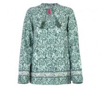 Bluse 'Jemma L' mit All-Over Muster