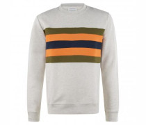 Sweatshirt 'Yaarick' mit Streifenmuster