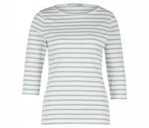 Shirt mit Streifenmuster und 3/4 Ärmel