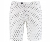 Bermudashorts mit All-Over Muster