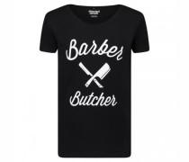 T-Shirt 'Blades Cutted Neck'