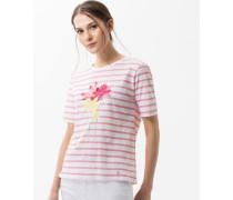 T-Shirt 'Cira' mit Pailletten-Besatz