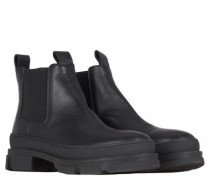 Stiefelette mit robuster Sohle