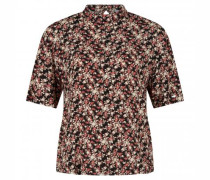 Blusenshirt mit floralem Print