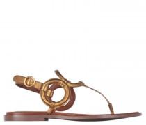 Sandalen im Riemendesign