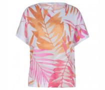 T-Shirt 'Rachel' mit Blatt-Muster