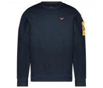 Pullover mit Logo-Patch und Armtasche