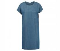 Kleid 'Gitaa' in Denim-Optik