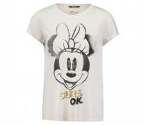 T-Shirt mit Minni Mouse Print