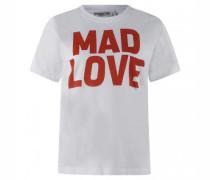 Baumwoll T-Shirt mit Aufdruck