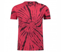 T-Shirt im Batik-Look