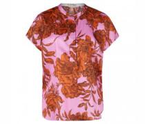 Oversize-Blusenshirt aus Seide