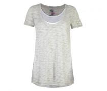 T-Shirt 'Milla L' in Lagen-Optik