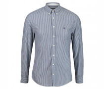 Shaped-Fit Hemd mit Button-Down Kragen